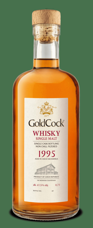 GOLD COCK 1995 SINGLE CASK 61,5% 0,7L