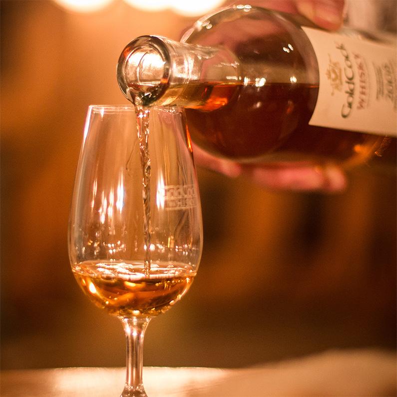 Slavnostní uvedení whisky GOLDCOCK Single Malt 1992 49,2%