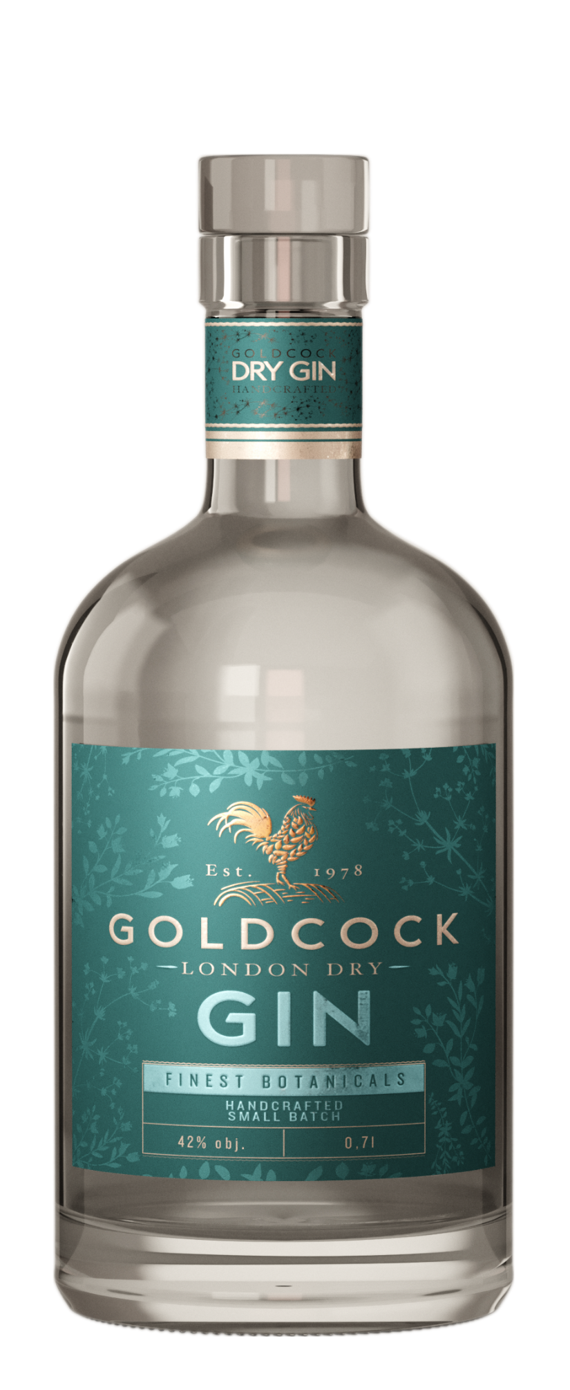 GOLD COCK GIN 40% 0,7L